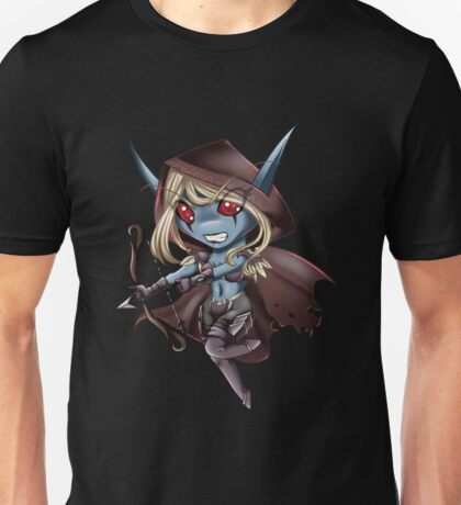 Tiny Queen of the Undead Unisex T-Shirt