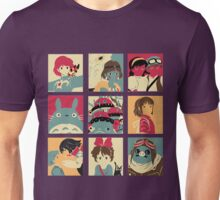 All Gibli Character Unisex T-Shirt