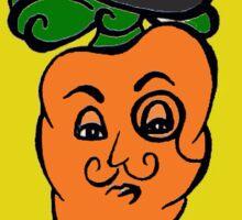 Fancy Carrot Sticker