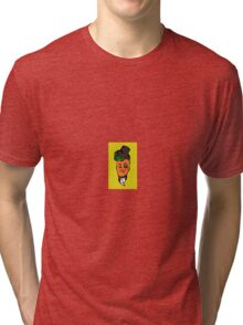 Fancy Carrot Tri-blend T-Shirt
