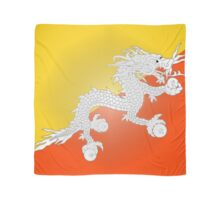 Flag of Bhutan Scarf