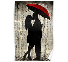 rainy day love Poster