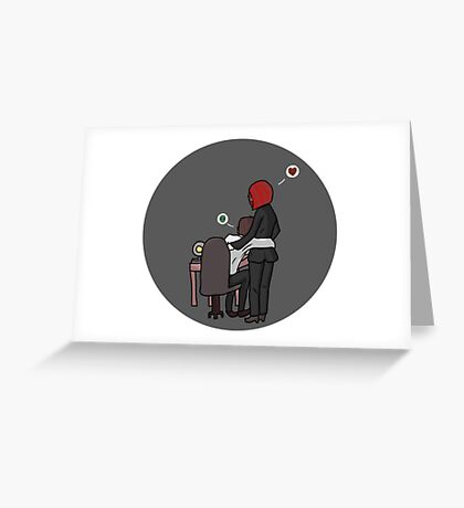 Mulder and Scully | Touchstone Greeting Card
