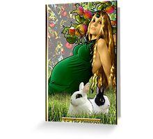 The Banx Tarot Empress Greeting Card