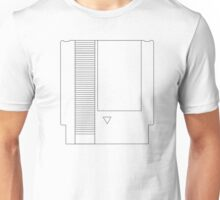 NES Cartridge - Black Ink Unisex T-Shirt