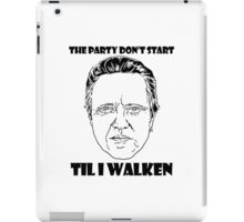 Funny Walken Party iPad Case/Skin