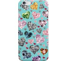 Heart Diamonds are Forever Love iPhone Case/Skin