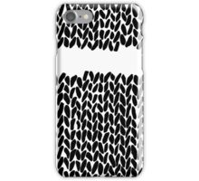 Missing Knit iPhone Case/Skin