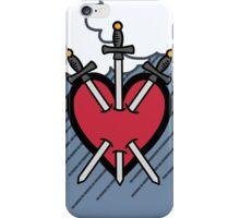 Tarot - Three of Swords iPhone Case/Skin