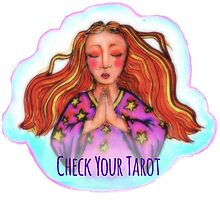 Check Your Tarot Photographic Print