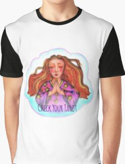 Check Your Tarot Graphic T-Shirt