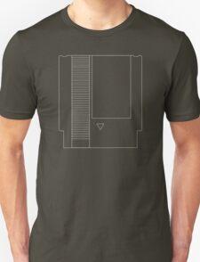 NES Cartridge - White Ink T-Shirt