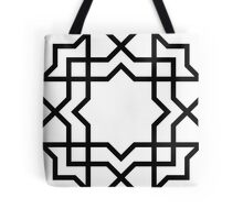 Eight pointed star unto oblivion Tote Bag