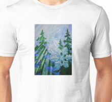 """Snowflake Forest""  Unisex T-Shirt"