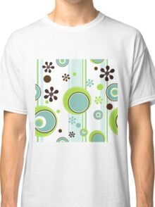Fun Circle Flower Design Classic T-Shirt