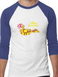 Yellow Serenity Men's Baseball ¾ T-Shirt