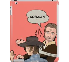 Coral!!! iPad Case/Skin