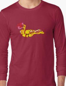 Yellow Serenity (no text) Long Sleeve T-Shirt