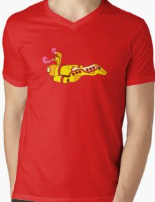 Yellow Serenity (no text) Mens V-Neck T-Shirt