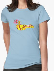Yellow Serenity (no text) Womens Fitted T-Shirt