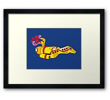 Yellow Serenity (no text) Framed Print