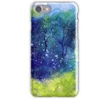 Tree Series - Trees in the Orchard 1  iPhone Case/Skin