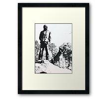 'DA WILDERNESS' Framed Print