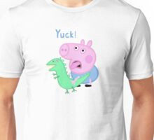George Pig Yuck! from Peppa Pig Lunch Unisex T-Shirt