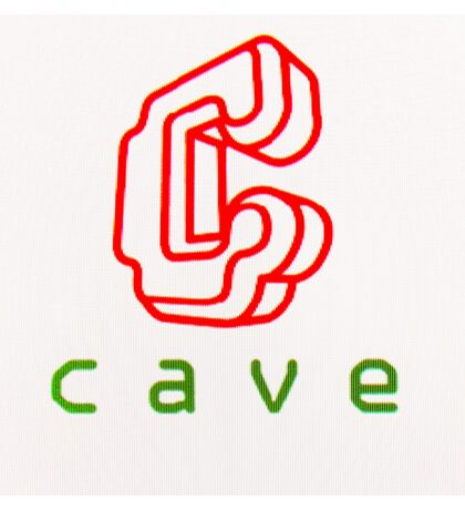 Cave Logo (CRT) Sticker