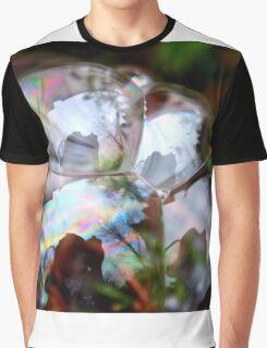 Photographer Inside Four Bubbles Graphic T-Shirt