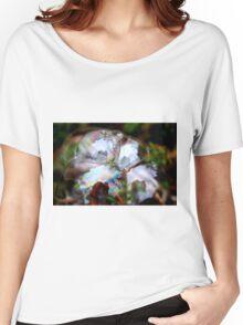 Photographer Inside Four Bubbles Women's Relaxed Fit T-Shirt
