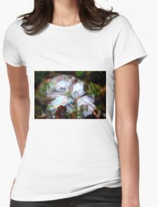 Photographer Inside Four Bubbles Womens Fitted T-Shirt