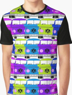 Campervan Multi Abstract No.2 Graphic T-Shirt
