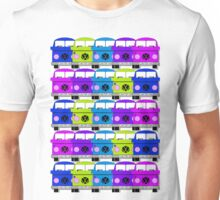 Campervan Multi Abstract No.2 Unisex T-Shirt