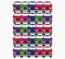 Campervan Multi Abstract No.3 Kids Clothes