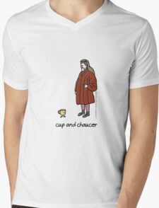 cup and chaucer Mens V-Neck T-Shirt