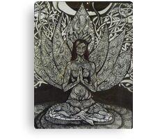 Sukhasana - easy pose Canvas Print