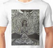 Sukhasana - easy pose Unisex T-Shirt