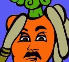 Carrot Fireman Sticker