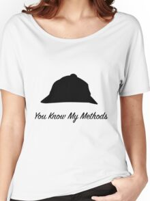 "Sherlock Holmes ""You Know My Methods"" Women's Relaxed Fit T-Shirt"