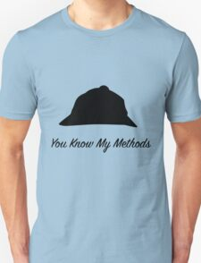 "Sherlock Holmes ""You Know My Methods"" T-Shirt"