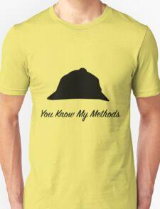 "Sherlock Holmes ""You Know My Methods"" T-Shirt"