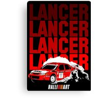 LANCER EVO VI - Tommi Makinen Canvas Print