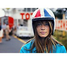 Françoise Hardy - Grand Prix Photographic Print