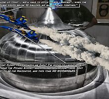 The Stress of Being a Blue Angel by GolemAura