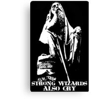 Strong Wizards Also Cry Canvas Print
