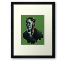 H.P. Lovecraft Framed Print