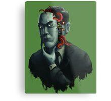 H.P. Lovecraft Metal Print