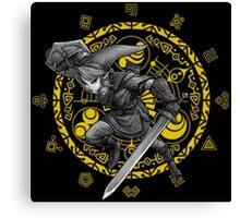 Legend of Zelda Twilight Princess - Link - Gate of Time Canvas Print