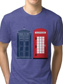 Dr. Who Phone Booth Tri-blend T-Shirt